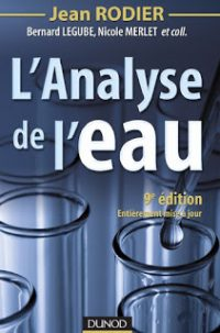 analyse de l'eau - Rodier - Hydro-Conseil