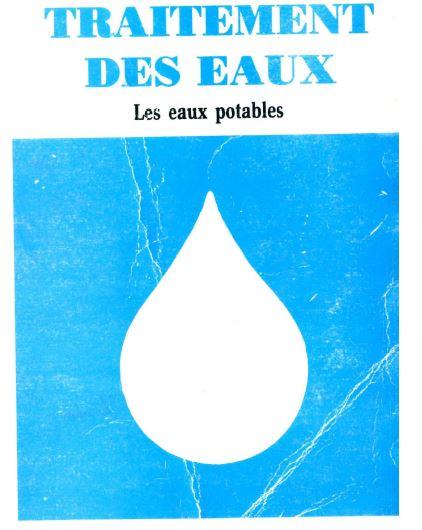 traitement des eaux - les eaux potables